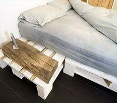 Inspiration to build own bedframe. DIY 20 Pallet Bed Frame Ideas  99 ...