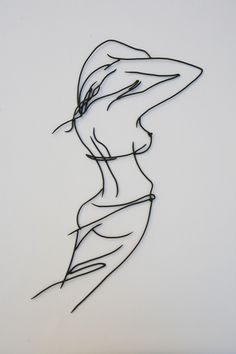 Winf of change Art Fil, Shadow Art, Iron Art, Welding Art, Woman Drawing, Wire Crafts, Minimalist Art, Erotic Art, Art Tutorials