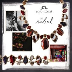 Meet the Rebel Inspired by provocative writer Anaïs Nin, our Rebel collection features complex + alluring designs with intoxicating semi-precious red tiger eye stones at the heart. Features: Edgy + declarative styles with a touch of boho glam  Learn more about the New Modern Muses Collection from Chloe + Isabel! Visit my online boutique: https://www.chloeandisabel.com/boutique/mandymott