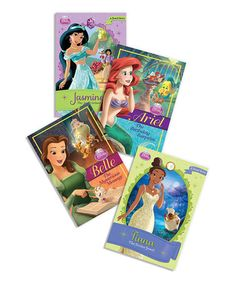 This Disney Princess Chapter Book Bundle by Disney Princess is perfect! #zulilyfinds