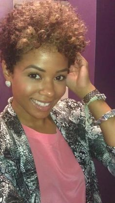 {Grow Lust Worthy Hair FASTER Naturally}>>> www.HairTriggerr.com <<< This Cut and Color are Cute...Plus I Love the Jacket!!!