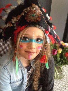 Eef indiaan Fall Halloween, Halloween Party, Halloween Costumes, Tribal Makeup, American Party, Cowgirl Party, Indian Makeup, Indian Party, Super Mom