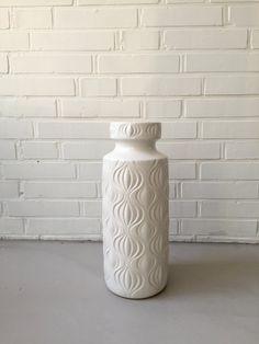 Vintage Vase, XL,  German Pottery, Bay, Mid Century, Keramik, Scheurich, Jasba, Bay, Modern Design von moovi auf Etsy