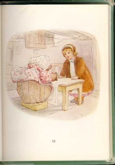 Beatrix Potter - The Tale of Mrs. Tiggy Winkle - Lucie Meets Tigglewinkle Ironing