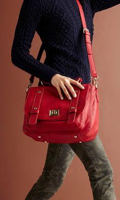 Great Messenger Bag for Fall.