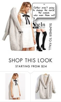 """""""Shein #9/4"""" by s-o-polyvore ❤ liked on Polyvore"""