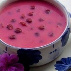 Fruit Soup, Nutella, Watermelon, Nom Nom, Cake Recipes, Bacon, Food And Drink, Pudding, Favorite Recipes