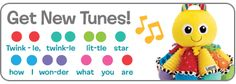 Download songs to play on your Lamaze Octotunes!