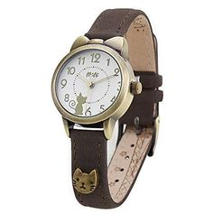 Fq-234 Brown Leather Strap Bowknot Kitty Design Students Girls Woman Quartz Wrist Watches    The Appeal of Cat Jewelry for Women    This is one of the most fun pieces of cat jewelry for women. You will appreciate this currently popular trending piece of jewelry is the eiptome of cute, sohptisticated and sexy.  Additionally you will appreciate how unique and eye catching these cat jewelry pieces are.  You can easily spruce up your wardrobe by adding a cute cat necklace, cat ring, cat…