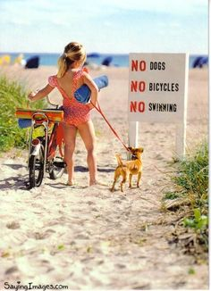 Ecards Funny | Saying Images - Part 2 girl, dog, beach, birthday