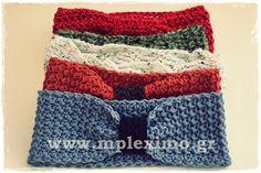 crochet turban headbands