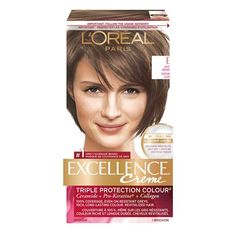 L'oreal Paris Permanent Hair Colour Excellence Cr Me, Golden Brown, 1 Ea E Light Brown Mens Hair Colour, Hair Color For Women, Permanent Hair Color, L'oréal Paris, Soft Hair, Luxury Beauty, Protective Hairstyles, How To Know, Loreal