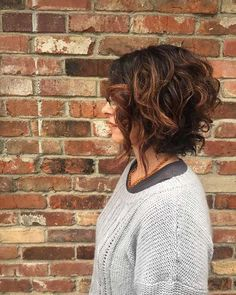 10. Short Curly Hairstyle for Women