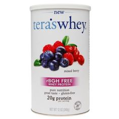 I'm learning all about tera's whey rBGH Free Whey Protein Mixed Berry at @Influenster!