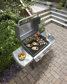 Click through for suggested times and temperatures for cooking your favorite foods on the grill.