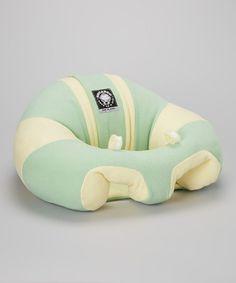 Green Sunshine Support Seat by Hugaboo #zulily #zulilyfinds