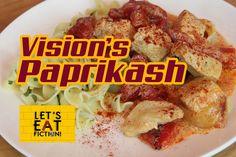 Vision's Chicken Paprikash (Captain America: Civil War) - Let's Eat Fict...