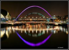The Millenium Bridge, River Tyne, Newcastle Upon Tyne, England