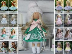 Soft doll Decor doll Green doll Baby doll Russian doll Christmas doll Collectable doll Art doll Tilda doll Unique doll Magic doll Margarita __________________________________________________________________________________________   Dear visitors!  This is unique magic doll created by Master Margarita Hilko (Kiev, Ukraine). This doll is sold and photos are given as example of possible doll. New doll will be made with some changes in color and\or accessories, keeping the main style, but we…