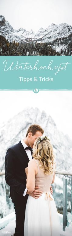 Welcher Winterhochzeits Typ seid ihr? Findet ihr es heraus und lest nach, was eure Hochzeit zur kalten Jahreszeit besonders macht.  Fotocredit: Hartwig Gsaller #winterhochzeit #winterwedding #winterlove #wedding #hochzeit #hochzeitimschnee #kartenmacherei
