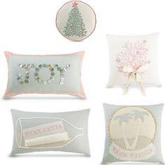 Christmas at the Beach Pillows