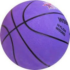 Purple basketball...