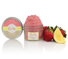 Enjoy our fun and flavor-packed Strawberry and Lemon Crumbles food facial scrub that foams, cleanses and exfoliates your skin. Natural, and pure, each crumble m