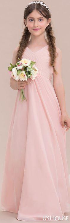 A perfect pink dress for flower girls #JJsHouse #Junior #Bridesmaid