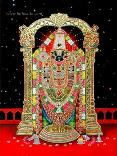 Lord Venkateswara Gets a 'Golden' New Ride