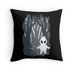 """Ignis Fatuus (Fuego fatuo)"" Throw Pillows by #Beatrizxe 