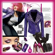 """""""Wild about Purple"""" by judysingley-polyvore ❤ liked on Polyvore"""