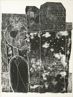 DUBUFFET, JEAN--GUILLEVIC EUGÈNE LES MURS.LITHOGRAPHIES ORIGINALES DE JEAN DUBUFFET. PARIS, LES EDITIONS DU LIVRE, 1945.