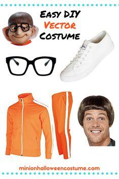 Vector Despicable Me Vector Despicable Me Costume - Minion Halloween Costume