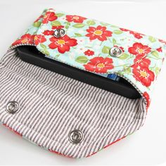 Secret Pocket Envelope Clutches PDF Sewing Pattern