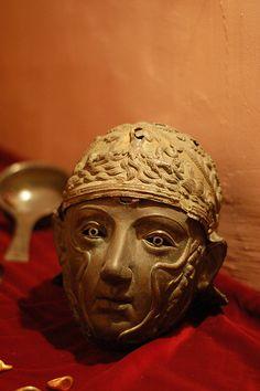 Thracian funeral helmet