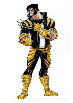 by Luis Montes Marvel Comic Universe, Marvel Comics Art, Marvel Dc Comics, Marvel Heroes, Wolverine Art, Logan Wolverine, Logan Xmen, Wolverine Costume, Marvel Comic Character