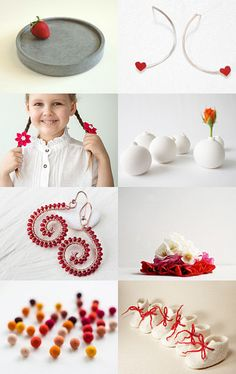 --Pinned with TreasuryPin.com Red Accents, Napkin Rings, Home Decor, Decoration Home, Room Decor, Home Interior Design, Napkin Holders, Home Decoration, Interior Design