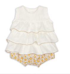 Precioso conjunto de blusa+braga Rochy marnenes.com