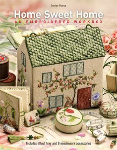 Thank you to everyone who has been patiently waiting for this hugely popular book to be re-printed. The wait is finally over!  Discover the hidden secrets of this exquisite embroidered workbox.  'Home Sweet Home' by Carolyn Pearce is an international needlework phenomenon that has captured the imagination of stitchers the word over.  This charming English cottage, beautifully decorated with a garden of stitches, opens to reveal 9 gorgeous accessories and includes storage for all your…