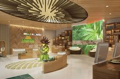 design concept revealed for new chain of cannabis retail stores