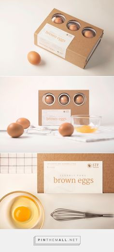 Design your own photo charms compatible with your pandora bracelets. Clearly Pure - Egg Packaging by emily lau Salad Packaging, Smart Packaging, Fruit Packaging, Food Packaging Design, Packaging Design Inspiration, Brand Packaging, Cardboard Packaging, Egg Designs, Box Design