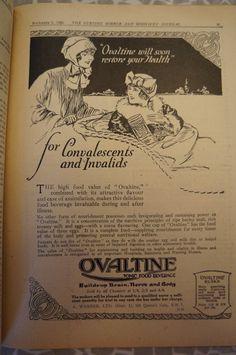 Ovaltine 1924 #advertising #1920s