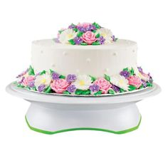 74 best Deco tools images on Pinterest   Food cakes  Postres and     Trim N Turn Ultra Cake Turntable  Great cake decorating tool