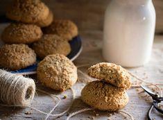 Galletas de Manzana y Coco con Crocante [Apple Crumble Cookies] – Bizcocheando