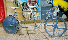 The best Tandem bike ever! Take that shit to the velo yo!. #Tracko #Bicycles #Cinelli