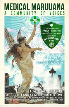 Medical Marijuana: A Community of Voices – WA Event 12/21/13 | An indoor rally is planned on December 21, 2013 in Seattle to draw the cannabis community together, as we gear up for a battle which will determine the fate of medical marijuana in Washington, and likely elsewhere given the potential global ramifications of decisions made here.