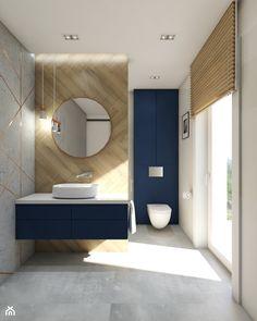 Condo Interior Design, Furniture Design, Wooden Bathroom, Small Bathroom, Blue Home Decor, Modern Bathroom Design, Bathtubs, Bathroom Ideas, Luxury Bathrooms