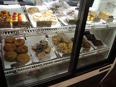 Pastry case at Noble Sandwich Co.