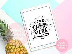 iPad Flatlay Mockup - Styled Photography for iPad Lettering, SVGs and Clipart Co Design, Make Design, Graphic Design, See You Again Soon, Flatlay Styling, As You Like, Mockup, Overlays, Hand Lettering
