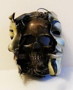 Behind the  v for vendetta mask. by richardsymonsart on Etsy